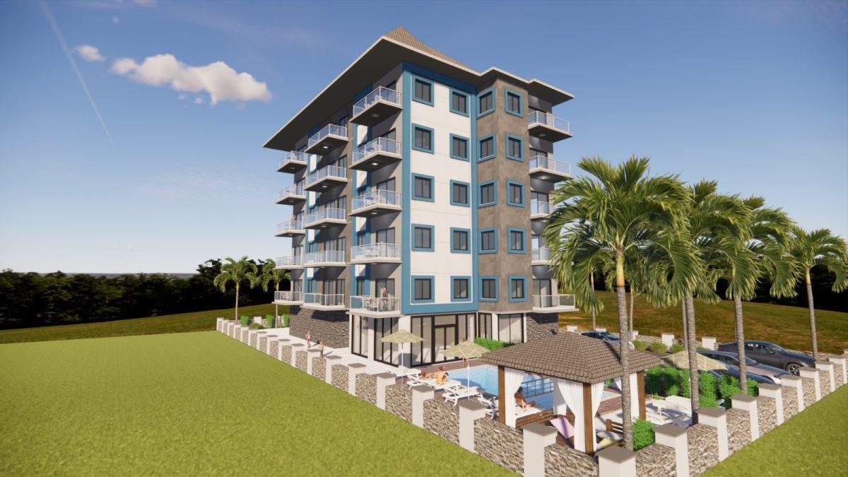 Апартаменты в новом комплексе в Авсалларе - Фото 6