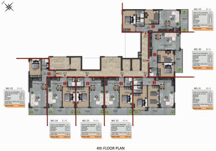 Апартаменты премиального класса в Авсаларе - Фото 45