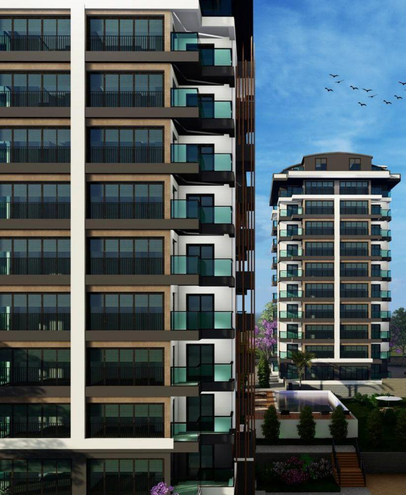 Квартиры с панорамным видом в Авсалларе - Фото 5