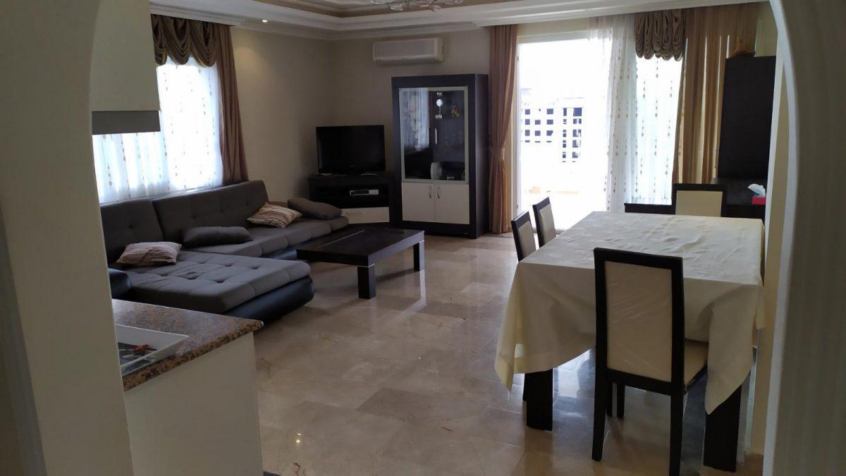 Благоустроенная квартира с мебелью 2+1 в Махмутлар - Фото 13