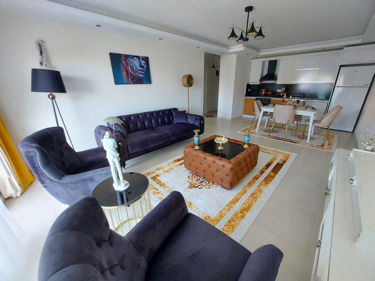 Просторная меблированная квартира 1+1 в Махмутларе - Фото 12