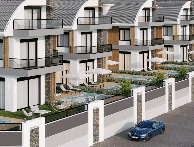 Новый комплекс вилл в Авсалларе - Фото 5