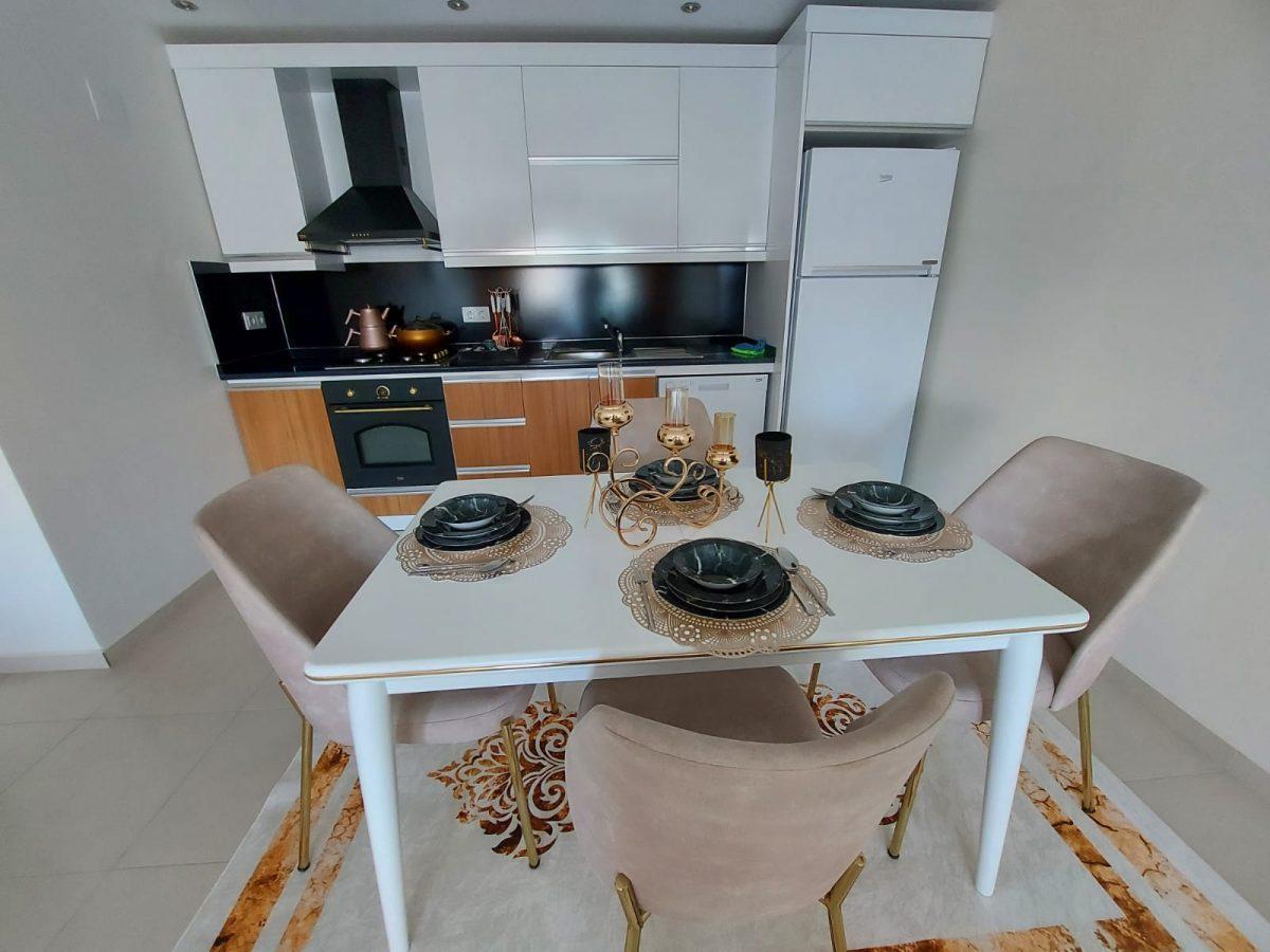 Просторная меблированная квартира 1+1 в Махмутларе - Фото 16