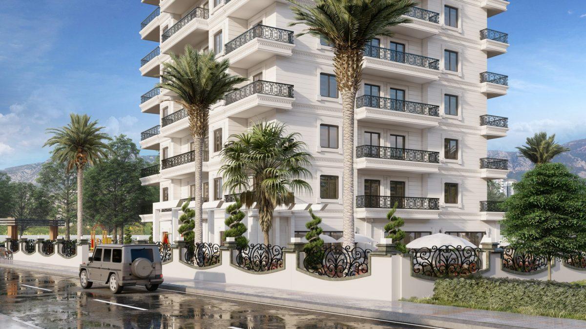 Апартаменты в новом ЖК в Махмутларе в 800 метрах от пляжа - Фото 10