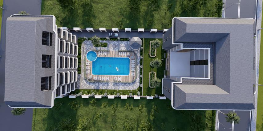 Жилой комплекс для инвестиций рядом с морем в Каргыджак - Фото 8