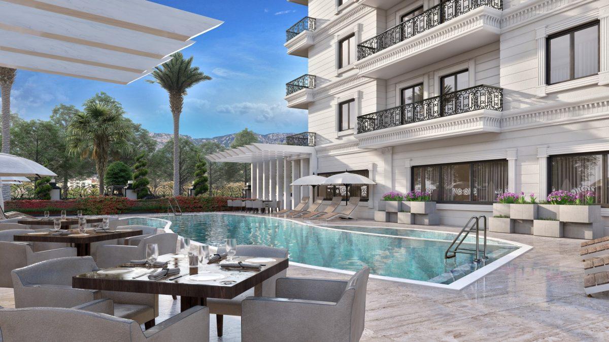 Апартаменты в новом ЖК в Махмутларе в 800 метрах от пляжа - Фото 11