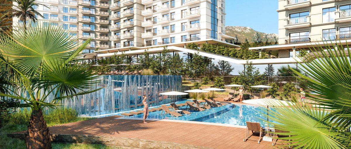 Квартиры в роскошном ЖК с собственным пляжем в Махмутларе - Фото 9