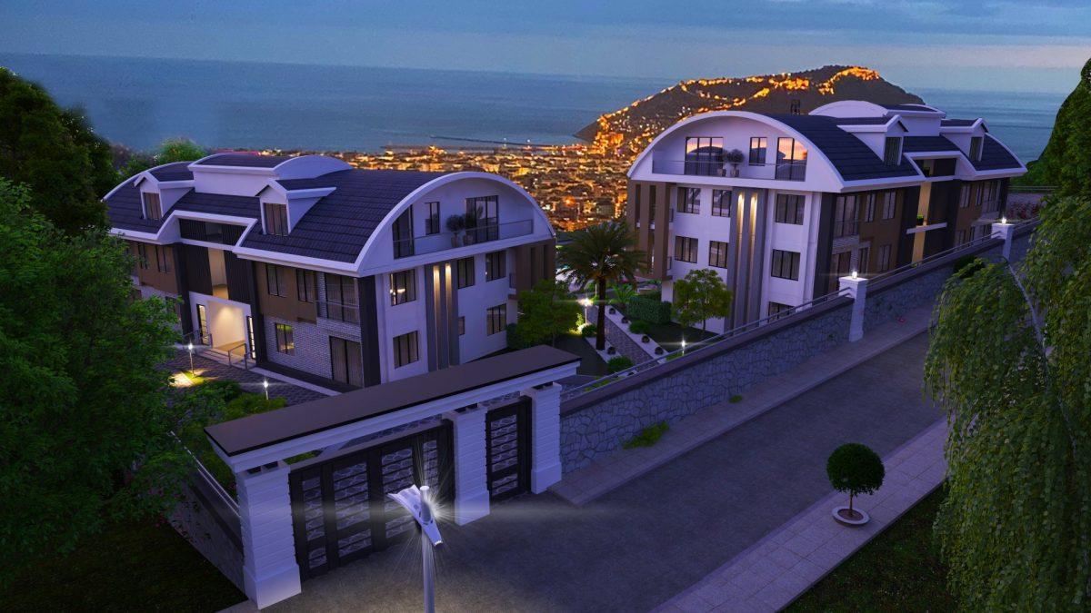 Апартаменты премиального класса  с панорамным видом в центре Алании - Фото 9