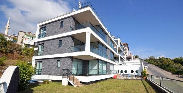 Апартаменты 2+1 с панорамным видом на Аланию - Фото 3