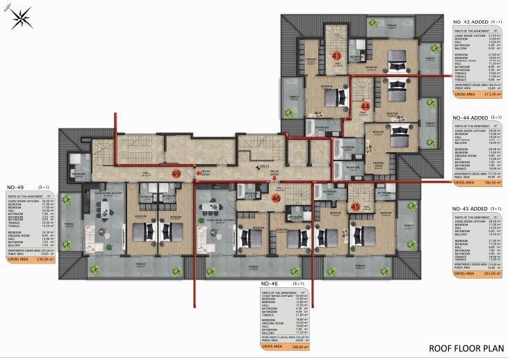 Апартаменты премиального класса в Авсаларе - Фото 48