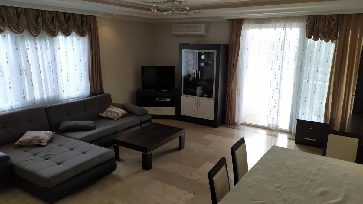 Благоустроенная квартира с мебелью 2+1 в Махмутлар - Фото 14
