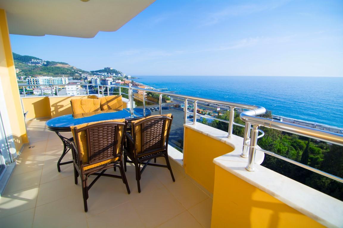 Трехкомнатная квартира с прямым видом на море в Махмутларе - Фото 17