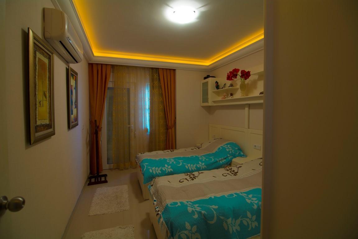 Трехкомнатная квартира с прямым видом на море в Махмутларе - Фото 15