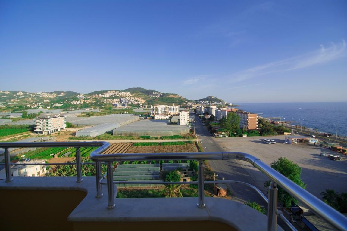 Трехкомнатная квартира с прямым видом на море в Махмутларе - Фото 16
