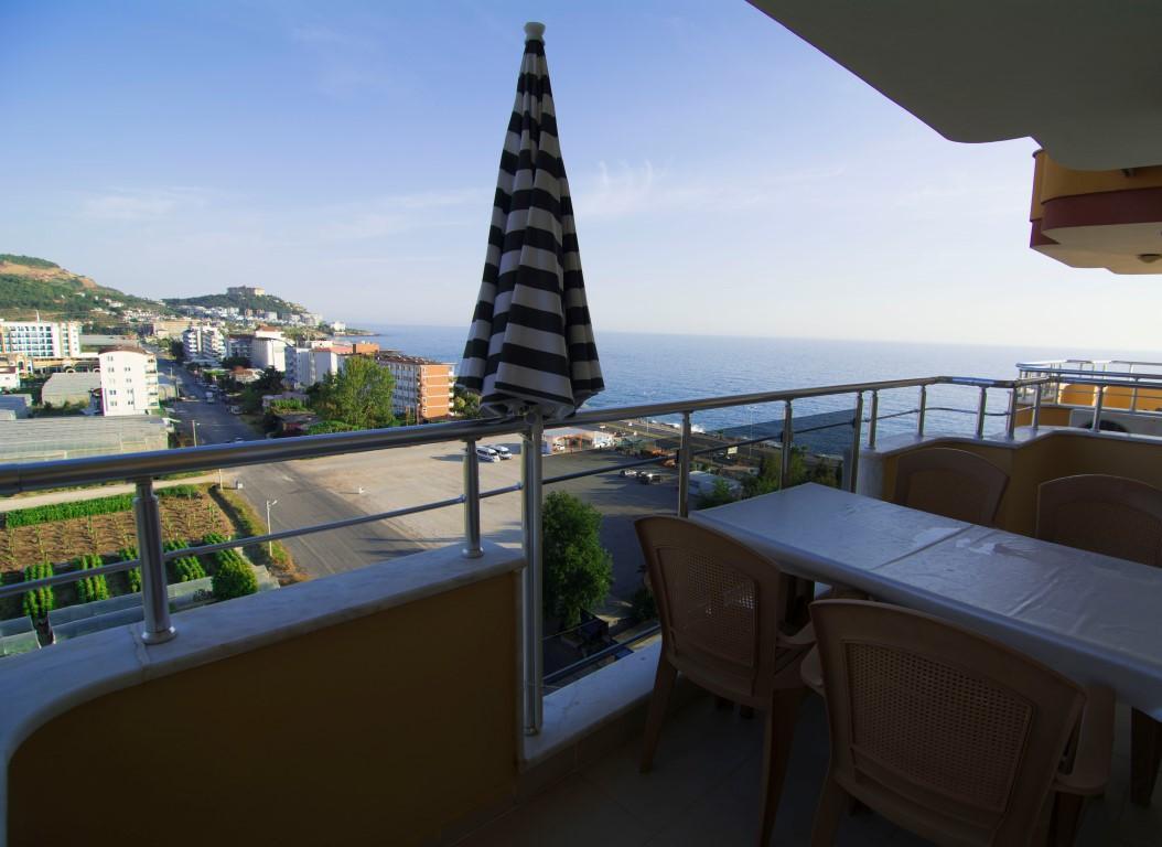 Трехкомнатная квартира с прямым видом на море в Махмутларе - Фото 18