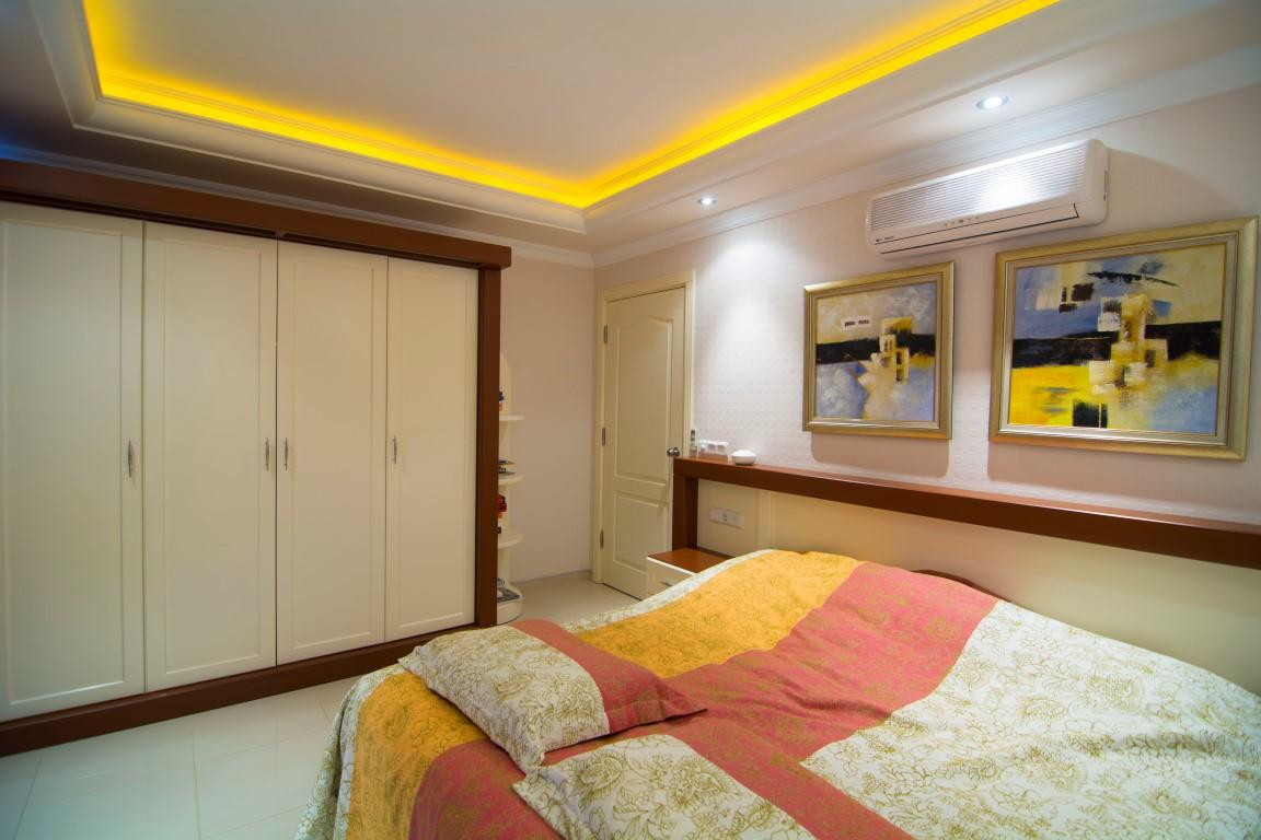 Трехкомнатная квартира с прямым видом на море в Махмутларе - Фото 20