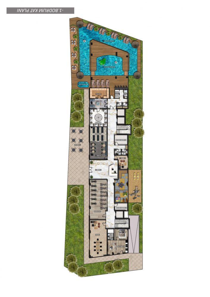 Инвестиционный проект премиум класса в центре Алании - Фото 47