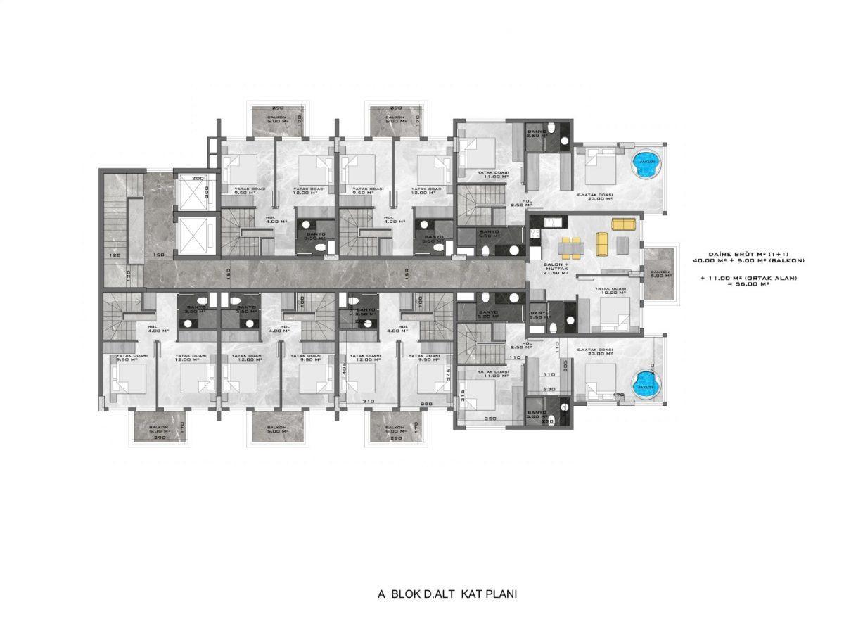 Новые апартаменты в люксовом комплексе в Кестеле - Фото 61