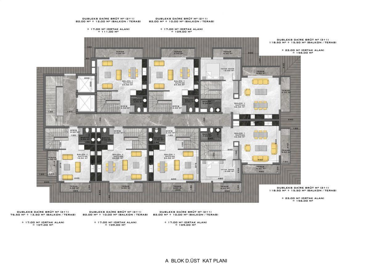 Новые апартаменты в люксовом комплексе в Кестеле - Фото 62