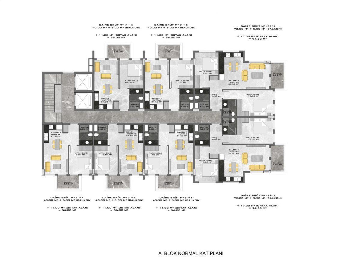 Новые апартаменты в люксовом комплексе в Кестеле - Фото 63