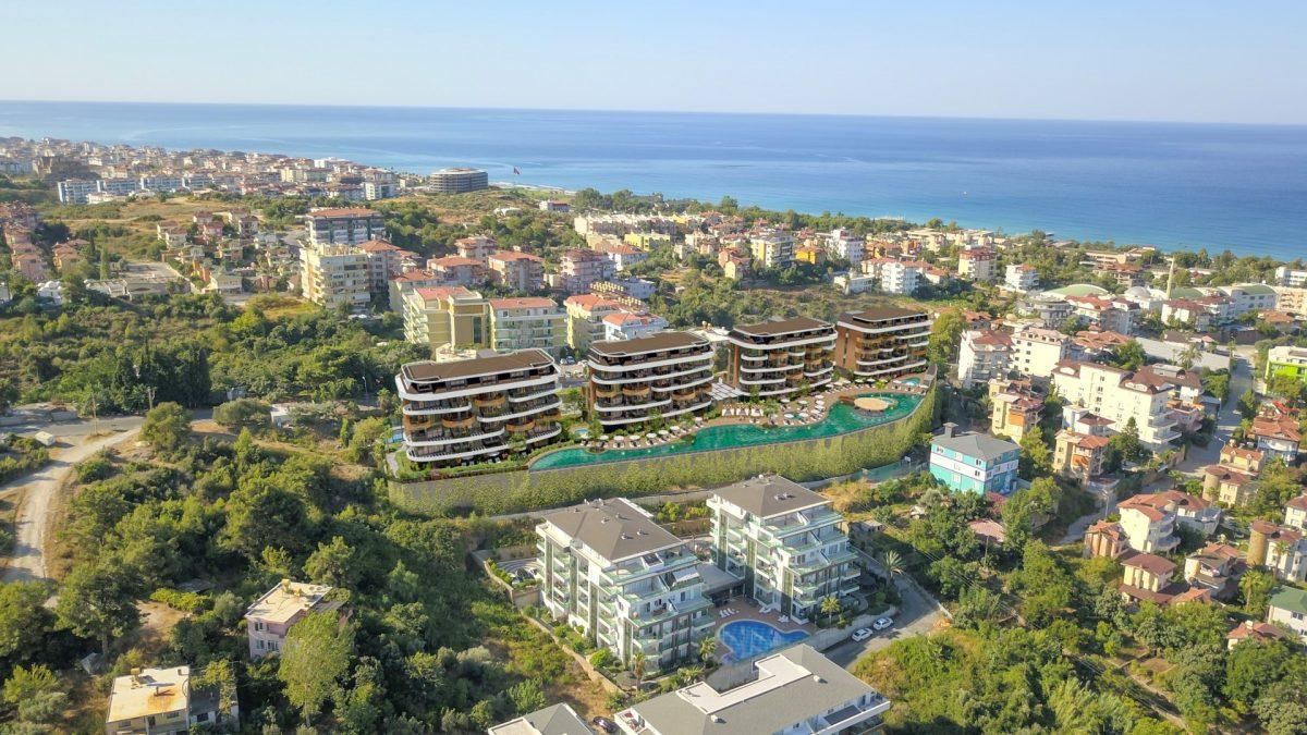 Новые апартаменты в люксовом комплексе в Кестеле - Фото 8