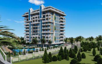 Инвестиционные апартаменты класса люкс в Авсаллар