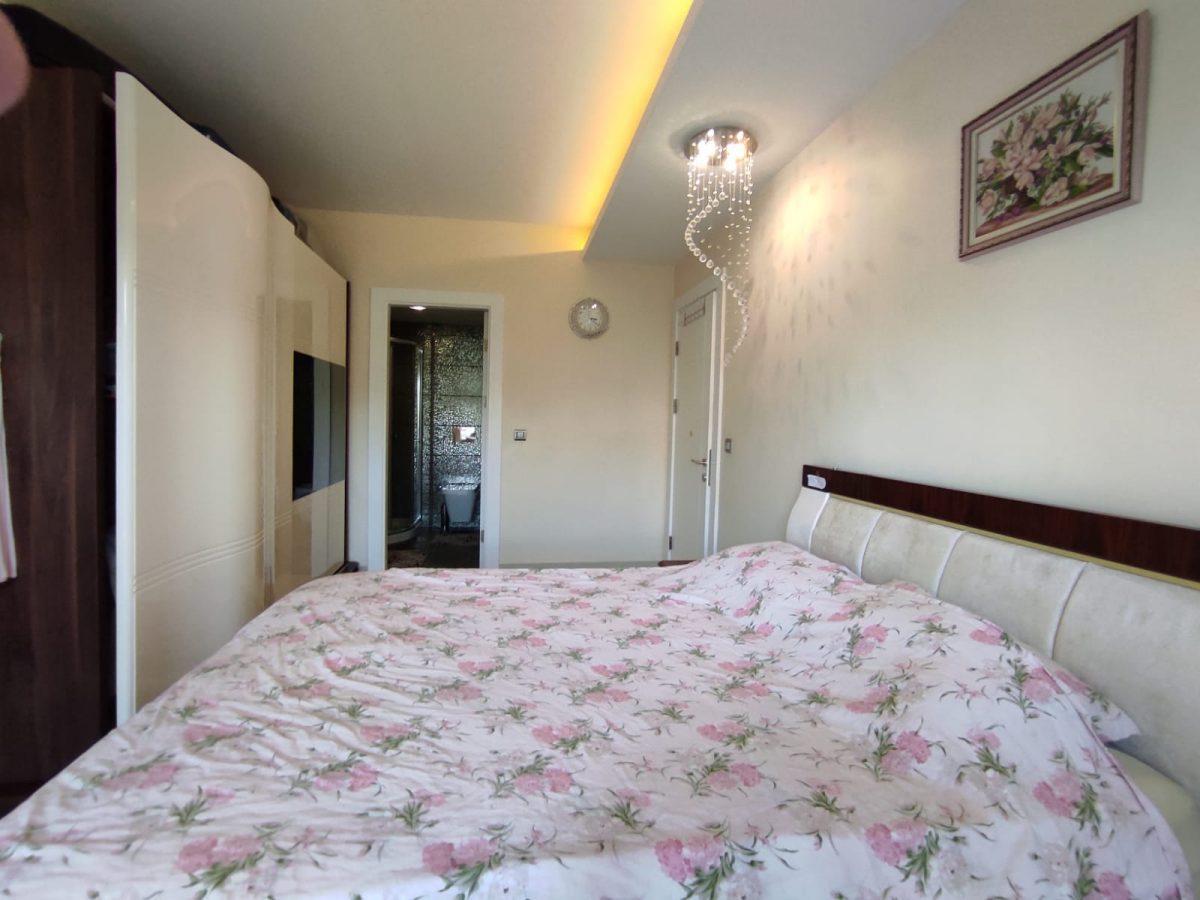Квартира 2+1 с мебелью и техникой в комплексе с отельной концепцией в Махмутларе - Фото 34