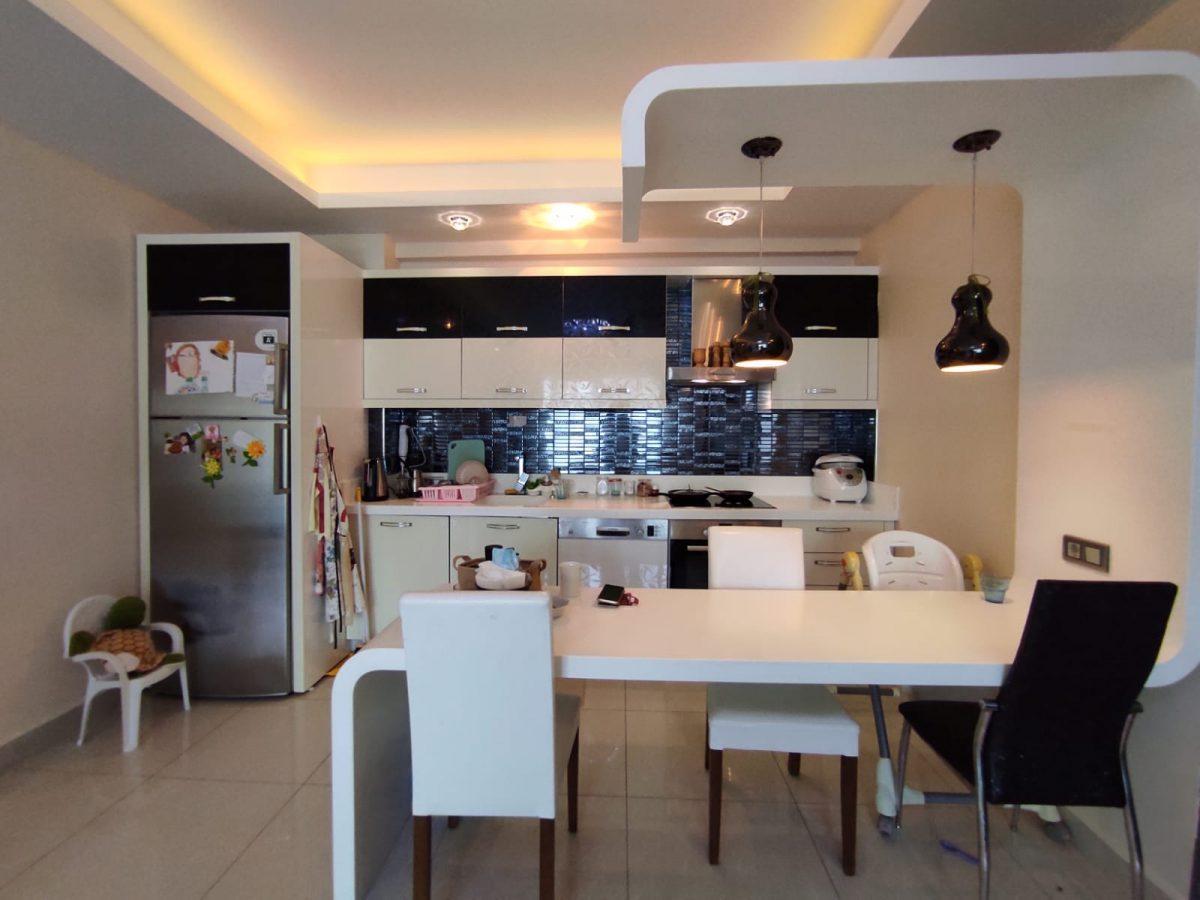 Квартира 2+1 с мебелью и техникой в комплексе с отельной концепцией в Махмутларе - Фото 28