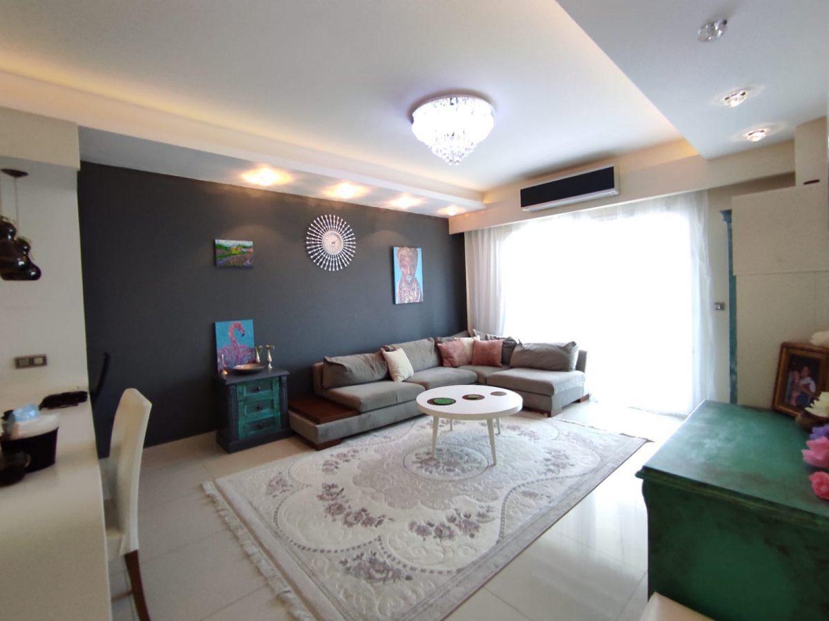 Квартира 2+1 с мебелью и техникой в комплексе с отельной концепцией в Махмутларе - Фото 32