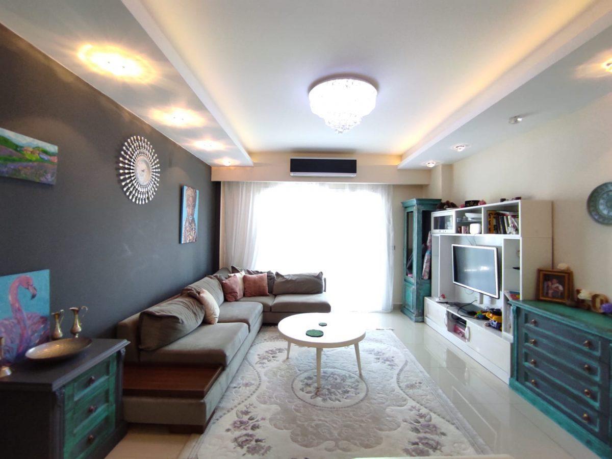 Квартира 2+1 с мебелью и техникой в комплексе с отельной концепцией в Махмутларе - Фото 33