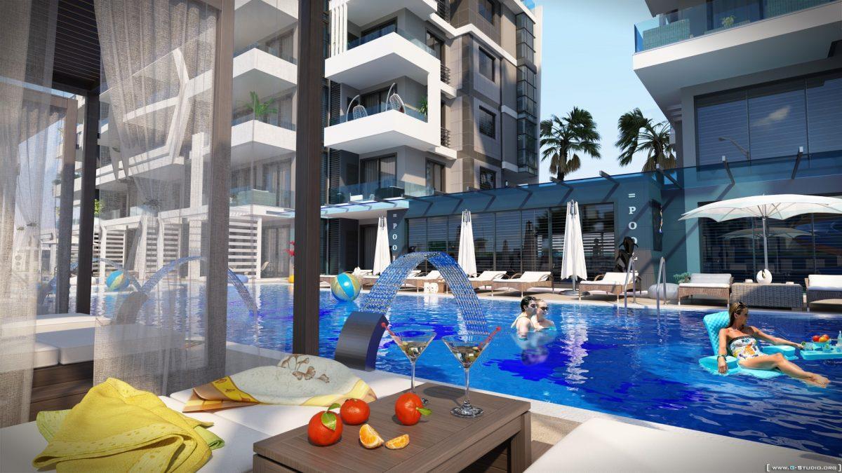 Новый комплекс класса люкс в Каргыджаке рядом с морем - Фото 9