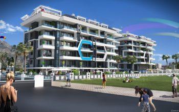 Новый комплекс класса люкс в Каргыджаке рядом с морем