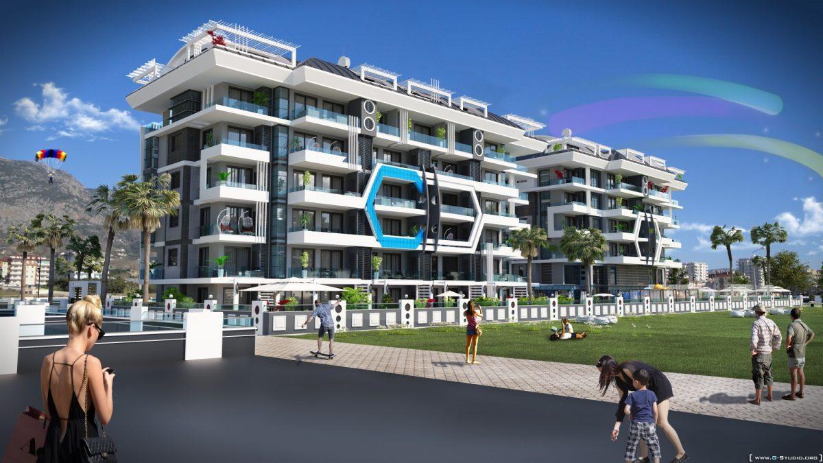 Новый комплекс класса люкс в Каргыджаке рядом с морем - Фото 1
