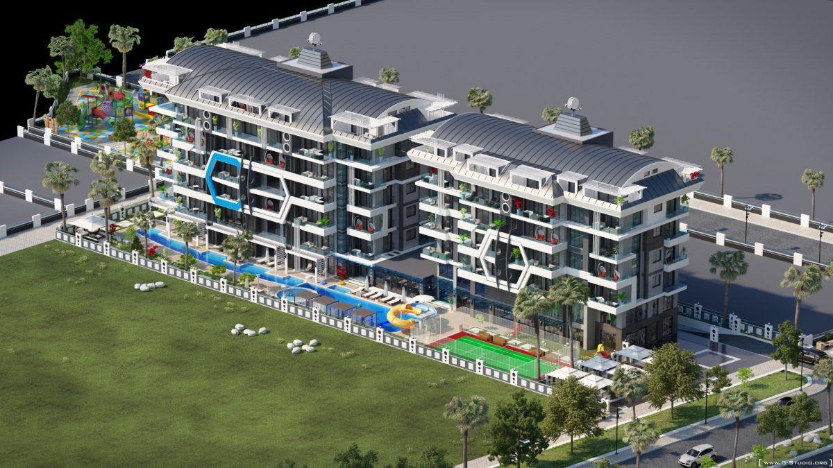 Новый комплекс класса люкс в Каргыджаке рядом с морем - Фото 2