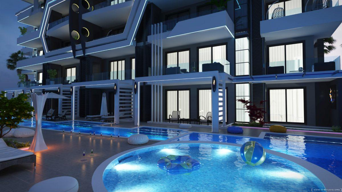 Новый комплекс класса люкс в Каргыджаке рядом с морем - Фото 26