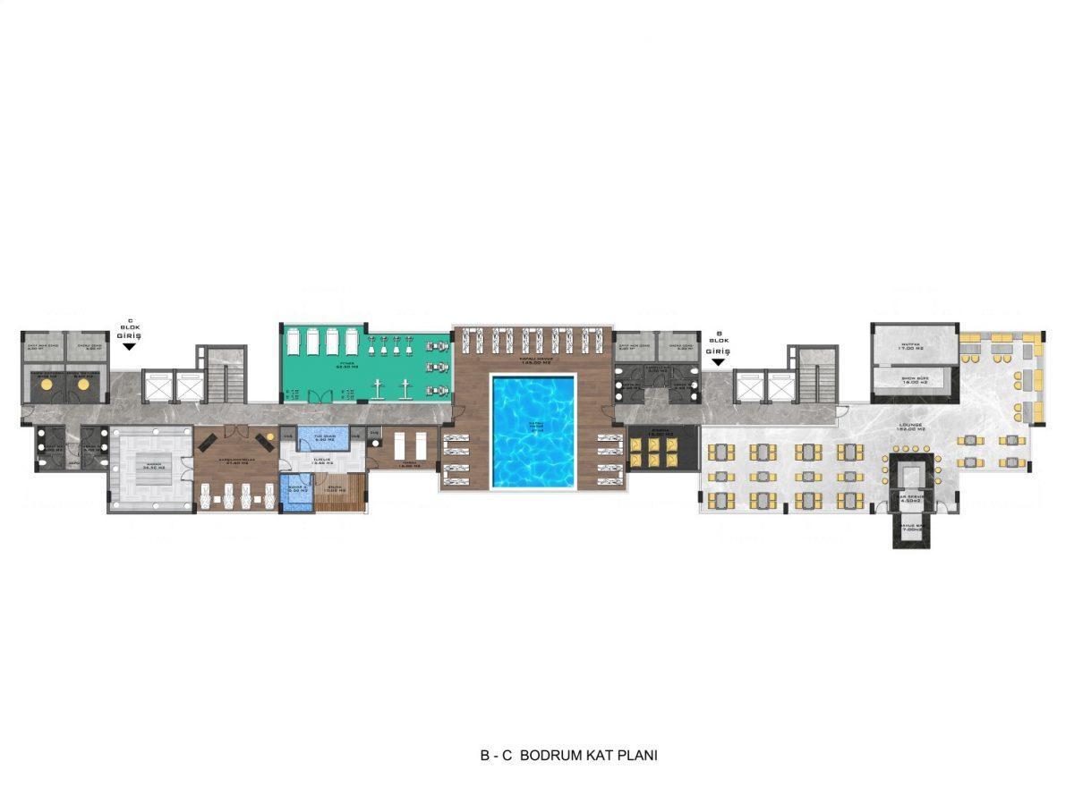 Новые апартаменты в люксовом комплексе в Кестеле - Фото 64