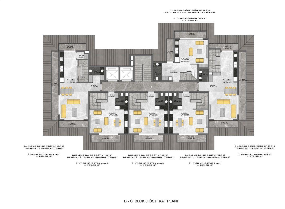 Новые апартаменты в люксовом комплексе в Кестеле - Фото 66