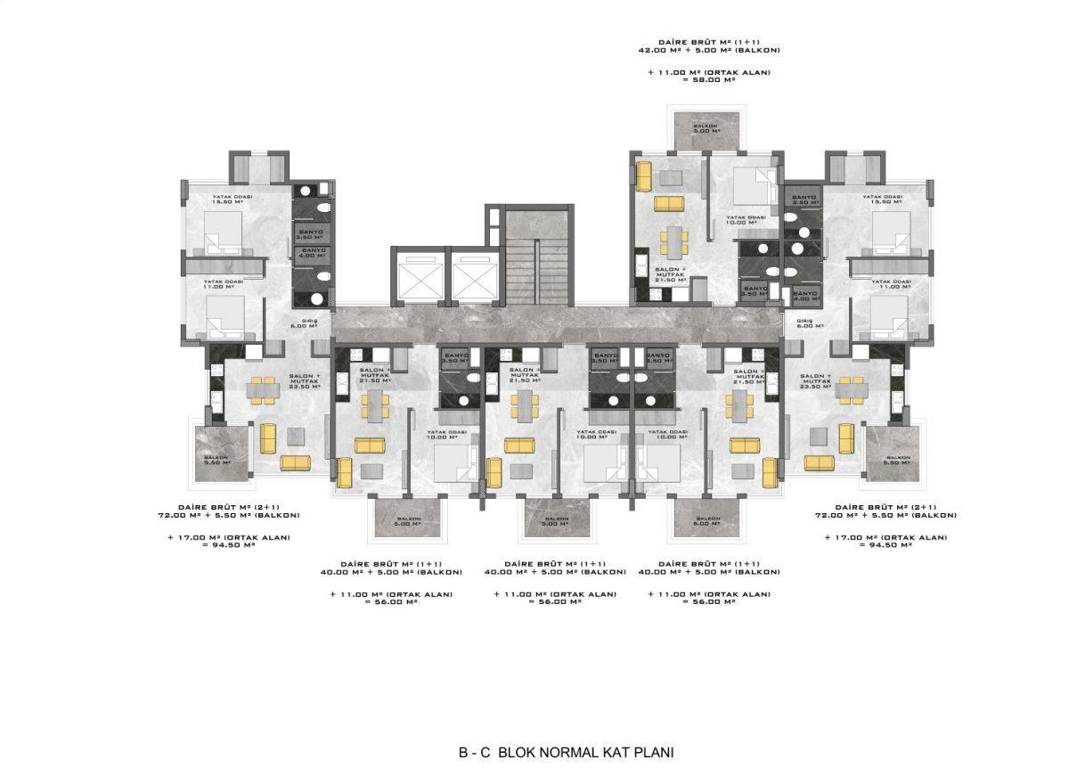 Новые апартаменты в люксовом комплексе в Кестеле - Фото 67