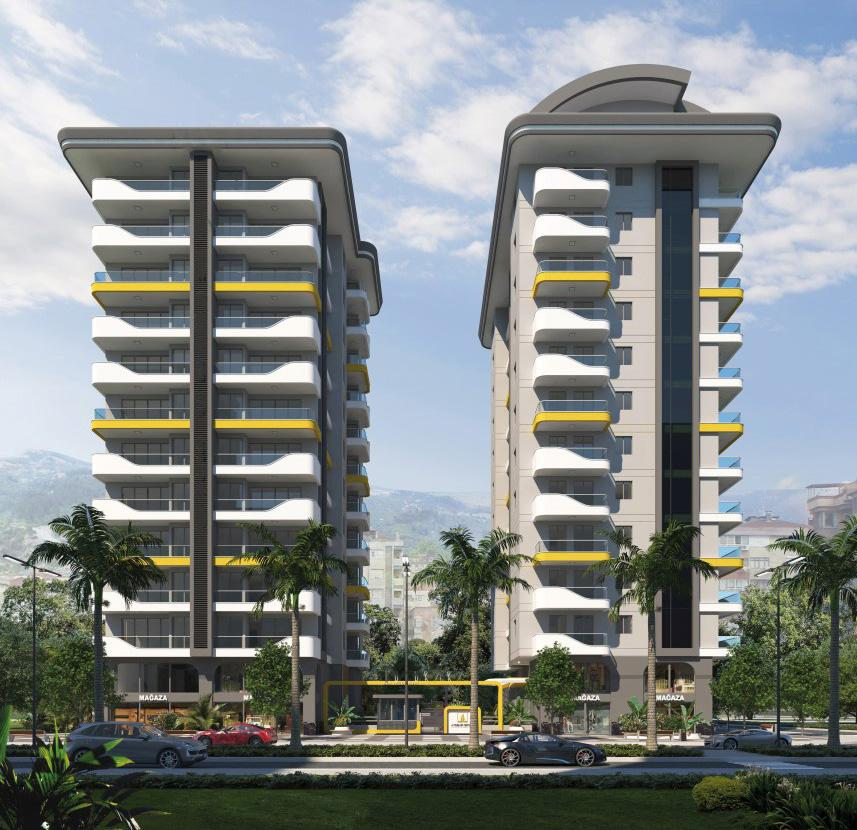 Квартиры в новом ЖК в центре Махмутлара - Фото 2