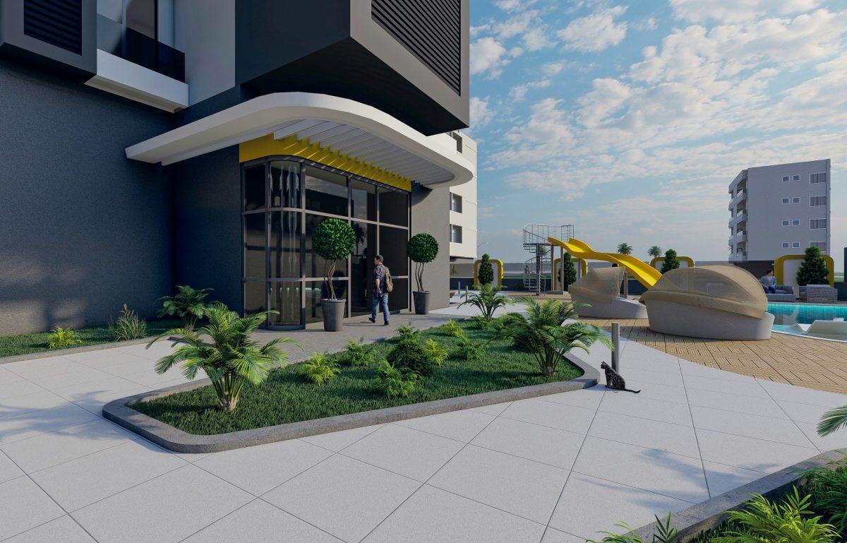 Квартиры в новом ЖК в центре Махмутлара - Фото 4