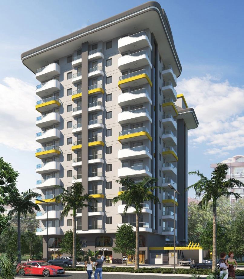 Квартиры в новом ЖК в центре Махмутлара - Фото 5