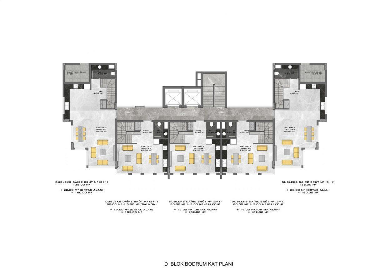 Новые апартаменты в люксовом комплексе в Кестеле - Фото 69