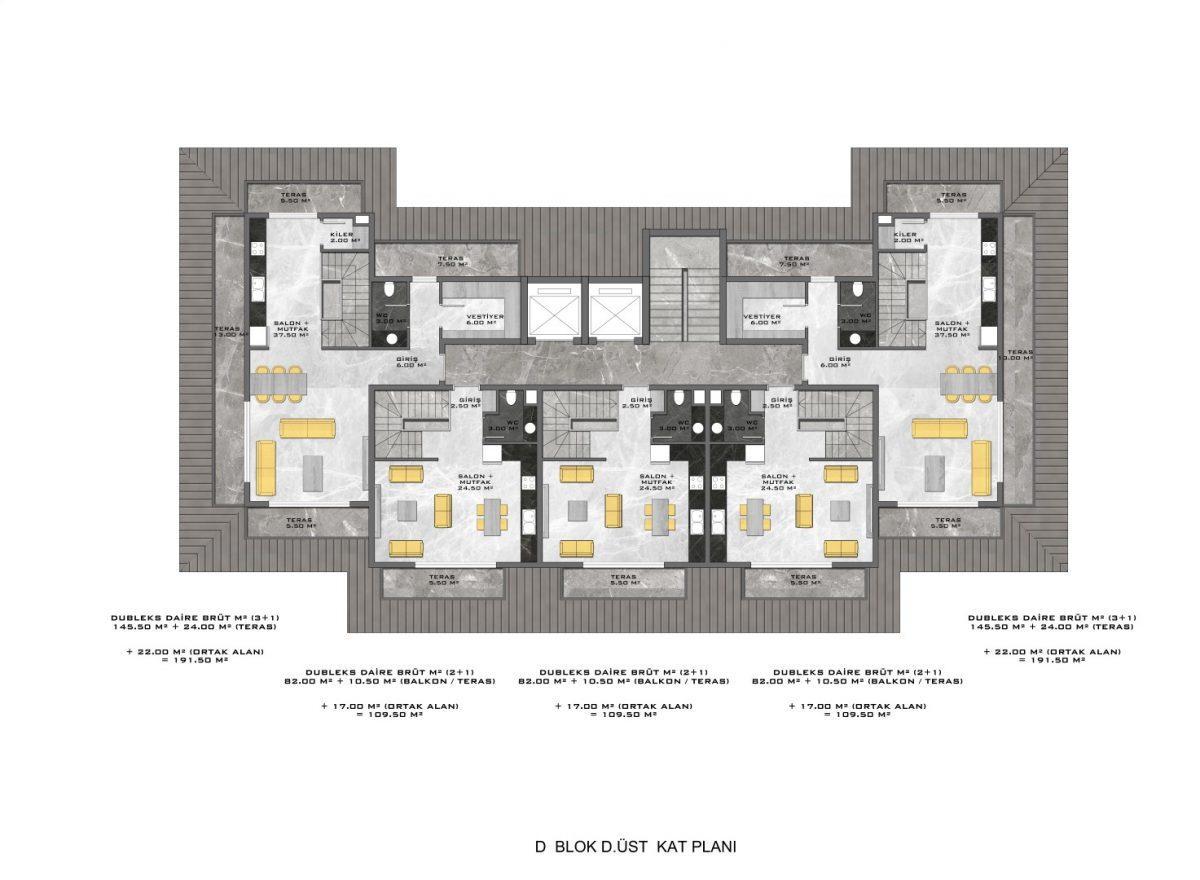 Новые апартаменты в люксовом комплексе в Кестеле - Фото 71