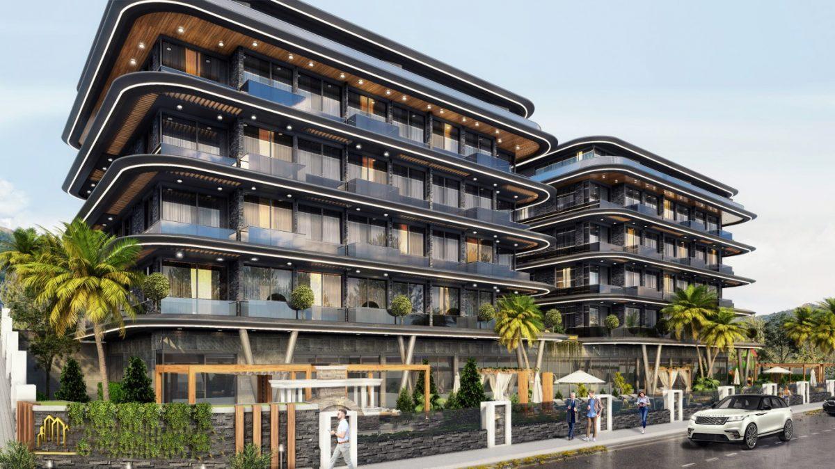 Новые апартаменты в центральном районе Аланьи - Фото 3