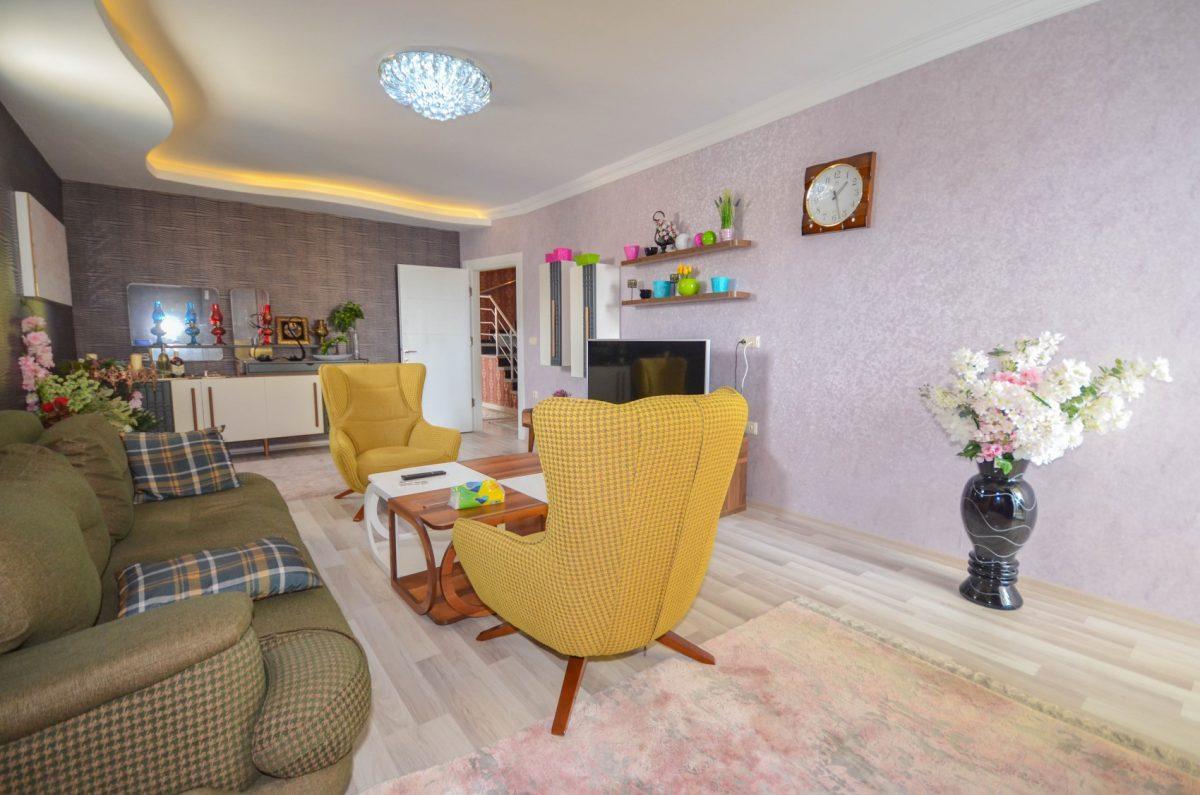 Апартаменты с  оригинальным дизайном в Махмутлар - Фото 5