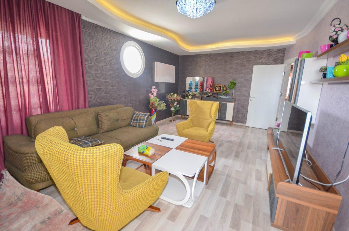 Апартаменты с  оригинальным дизайном в Махмутлар - Фото 6