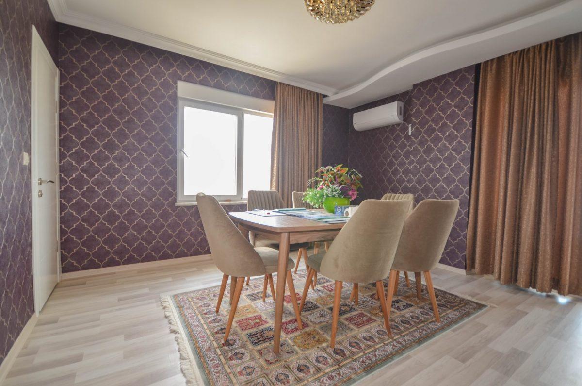 Апартаменты с  оригинальным дизайном в Махмутлар - Фото 12