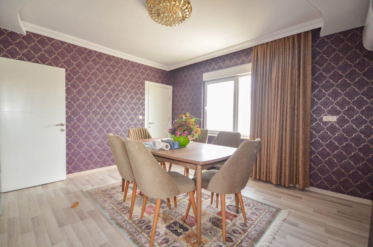 Апартаменты с  оригинальным дизайном в Махмутлар - Фото 14