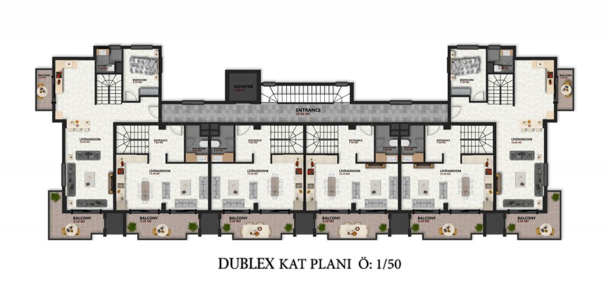 Квартиры в новом ЖК в районе Оба - Фото 23
