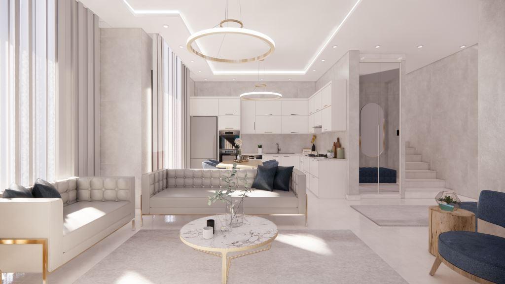 Инвестиционные апартаменты 1+1 в Авсаллар - Фото 21